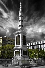Merced Square (Plaza de la Merced) in Malaga, Spain