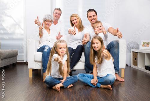 die ganze familie - 71909016