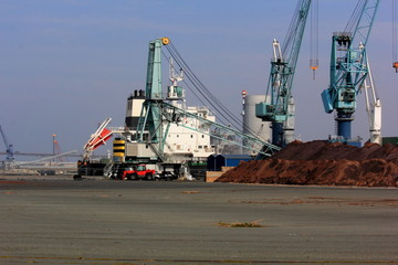 Gros plan sur le port