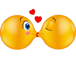Kissing emoticon