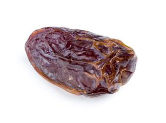 Isolated macro of fresh date fruit