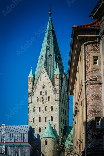 canvas print picture Dom Paderborn Westfalen