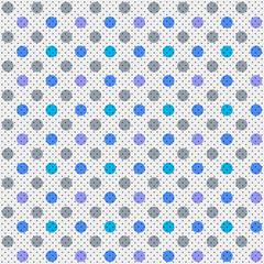 Vector Background # Polka Dot Pattern, Subdued Color