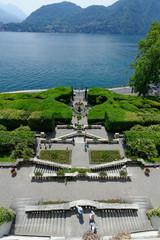 Parc de la Villa Carlotta au bord du lac de Côme