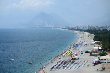 Antalya's beach
