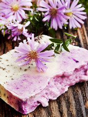 Floral Handmade Soap