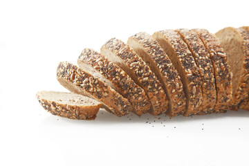 German Bread with Sesame and Pumpkin Poppy Seeds