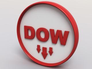 Dow Jones 3D Button Concept II