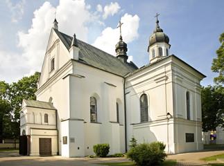 St. Anne's Church in Biala Podlaska. Poland