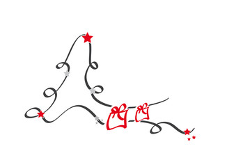 tannenbaum - geschenk