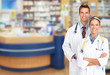 Pharmacist in a drugstore