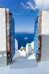 Île de Santorin Grèce Cyclades