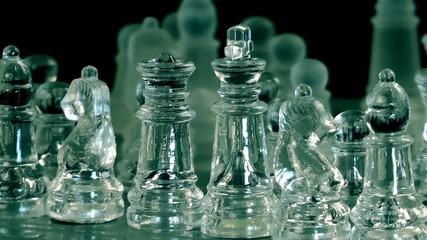Chess From Glass