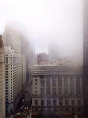 cityhall building in fog