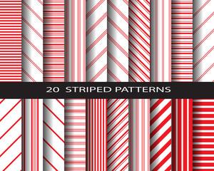 red stripes pattern