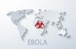 vector modern ebola elemenr design. - 71920844