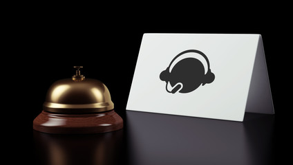 Hotel Bell Contact Icon