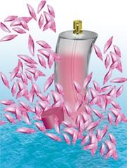 Perfum w wodzie