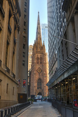 Trinity Church, New York City. USA.