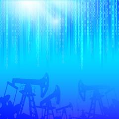 Oil industry.