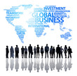canvas print picture - An Effective Global Business Team