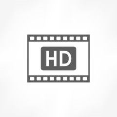 film strips hd icon