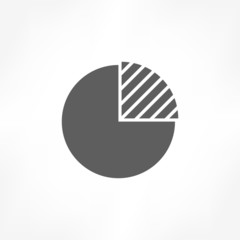 pie graph icon