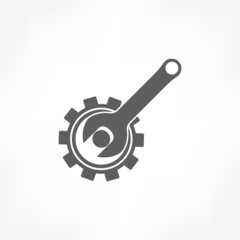 gear & wrench icon