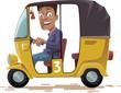 Asian Rickshaw - 71926809