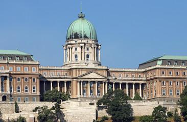 Buda royal castle Budapest Hungary