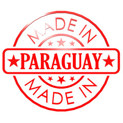 Made in Paraguay red seal