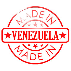 Made in Venezuela red seal