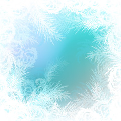 frosty pattern vector background