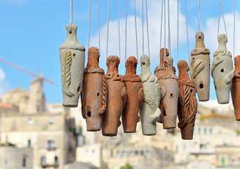 il cuccù, fischietto di Matera