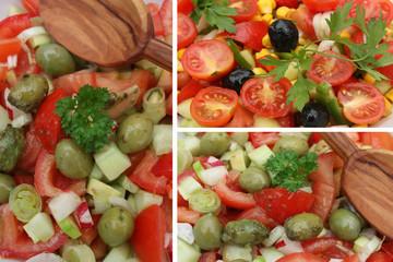Salade de Crudités - Repas végétarien