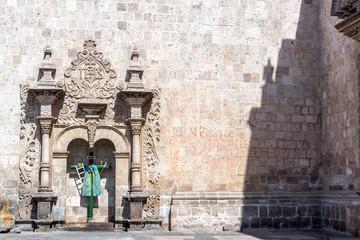 Santo Domingo Church in Arequipa