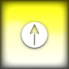 bouton web haut