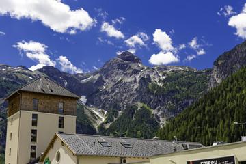 Raststätte in Österreich Alpen