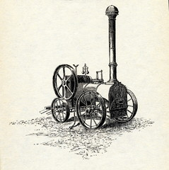 William Tuxford's portable steam engine ca. 1840