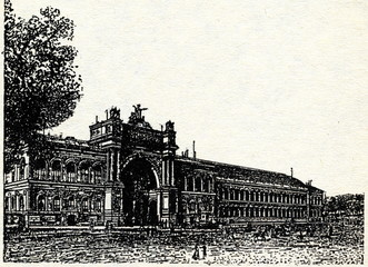 Palais d'Industrie of EXPO 1855 (Exposition Universelle
