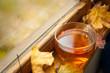 canvas print picture - Autumn tea