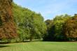 canvas print picture - Ile de France, the picturesque city of Rambouillet