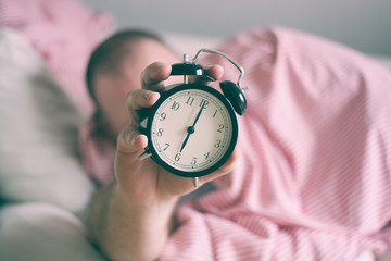 Wake up with clock