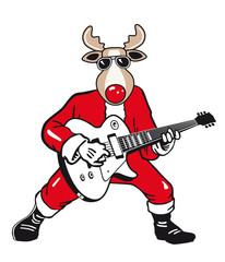Weihnachts Rentier Rocker