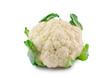 Leinwanddruck Bild - cauliflower isolated on white background