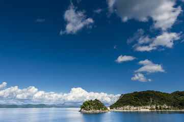 Small harbor in the Adriatic sea