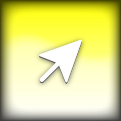 bouton web pointeur