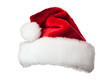 Santa hat on white - 71934413