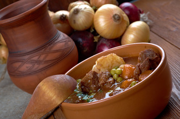 beef fricassee