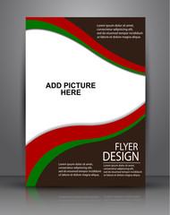 Flyer  Design - Business  for publishing, print and presentation